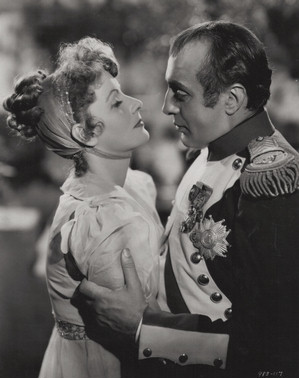Charles Boyer and Greta Garbo in Conquest