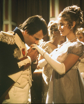 Ian Holm and Stephanie Beacham in Napoleon and  Love